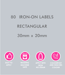 Iron-on Labels