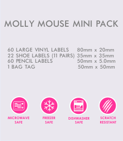 Molly Mouse Mini Pack