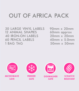 Out of Africa Pack