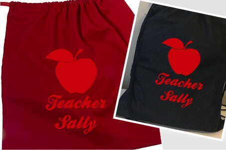 Teachers Apple Red Flock