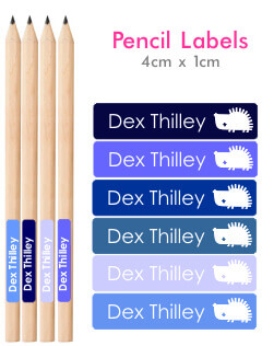 Itsmine products pencil labels blue pencil labels - Diva futura dvd ...
