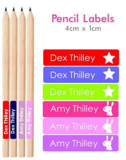Itsmine products pencil labels classic pencil labels - Video diva futura hard ...