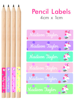 Dotty Pencil Labels