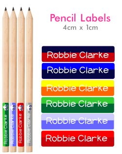 Itsmine products pencil labels two tone pencil labels - Video diva futura hard ...